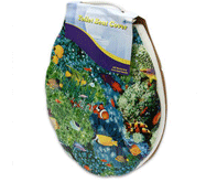 16-Inch Painted Toilet Seat